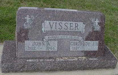 VISSER, JOHN A. - Sioux County, Iowa | JOHN A. VISSER