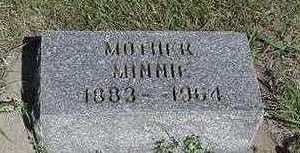 VISSER, MINNIE - Sioux County, Iowa | MINNIE VISSER