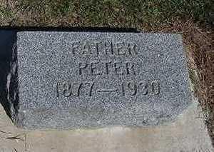 VISSER, PETER - Sioux County, Iowa   PETER VISSER
