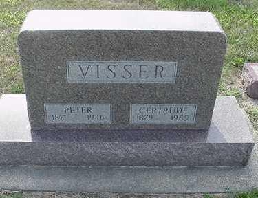 VISSER, GERTRUDE - Sioux County, Iowa | GERTRUDE VISSER