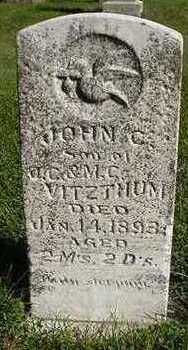 VITZTHUM, JOHN C. - Sioux County, Iowa | JOHN C. VITZTHUM