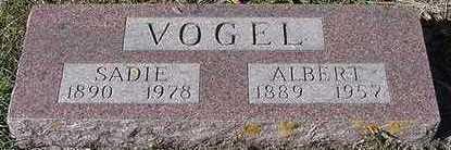 VOGEL, SADIE (MRS. ALBERT) - Sioux County, Iowa | SADIE (MRS. ALBERT) VOGEL