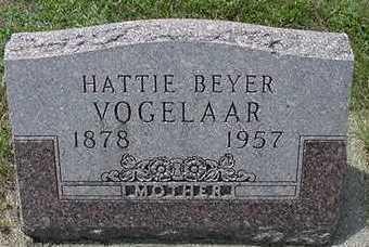 BEYER VOGELAAR, HATTIE - Sioux County, Iowa | HATTIE BEYER VOGELAAR