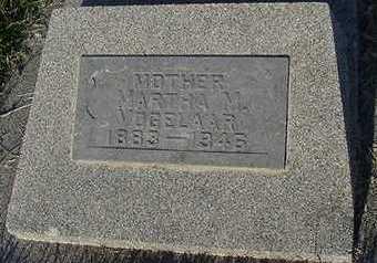 VOGELAAR, MARTHA M. - Sioux County, Iowa | MARTHA M. VOGELAAR