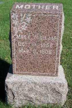 VOGELAAR, MRS. L. - Sioux County, Iowa | MRS. L. VOGELAAR
