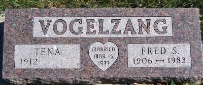 VOGELZANG, FRED S. - Sioux County, Iowa   FRED S. VOGELZANG