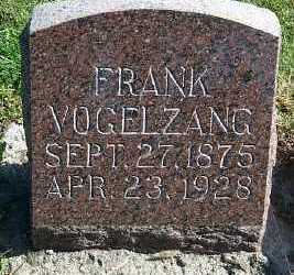 VOGELZANG, FRANK - Sioux County, Iowa | FRANK VOGELZANG
