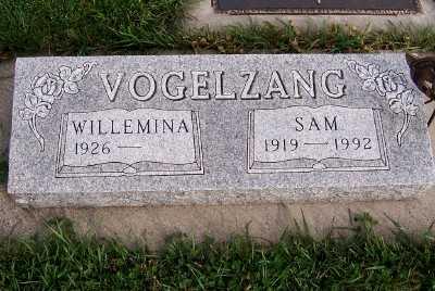 VOGELZANG, SAM - Sioux County, Iowa | SAM VOGELZANG