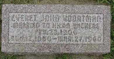 VOORTMAN, EVERT JOHN - Sioux County, Iowa | EVERT JOHN VOORTMAN