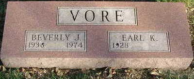 VORE, BEVERLY J. - Sioux County, Iowa | BEVERLY J. VORE