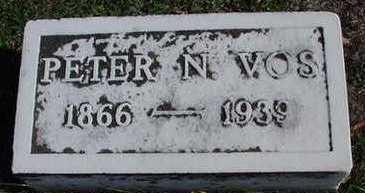 VOS, PETER N. - Sioux County, Iowa   PETER N. VOS