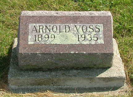 VOSS, ARNOLD - Sioux County, Iowa | ARNOLD VOSS