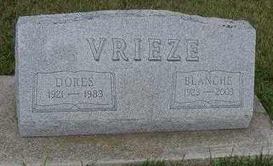 VRIEZE, BLANCHE - Sioux County, Iowa | BLANCHE VRIEZE