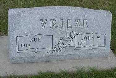 VRIEZE, SUE - Sioux County, Iowa | SUE VRIEZE