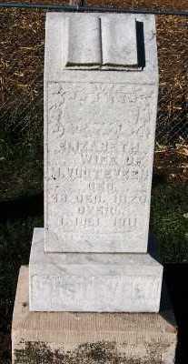 VUGTEVEEN, ELIZABETH (MRS. M.) - Sioux County, Iowa   ELIZABETH (MRS. M.) VUGTEVEEN