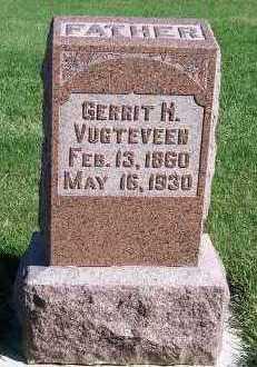 VUGTEVEEN, GERRIT H. - Sioux County, Iowa | GERRIT H. VUGTEVEEN