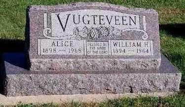 VUGTEVEEN, WILLIAM H. - Sioux County, Iowa | WILLIAM H. VUGTEVEEN