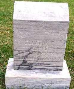 WAITE, ELVATON E. - Sioux County, Iowa   ELVATON E. WAITE