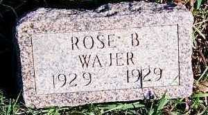 WAJER, ROSE B. - Sioux County, Iowa | ROSE B. WAJER