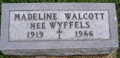 WYFFELS WALCOTT, MADELINE - Sioux County, Iowa | MADELINE WYFFELS WALCOTT