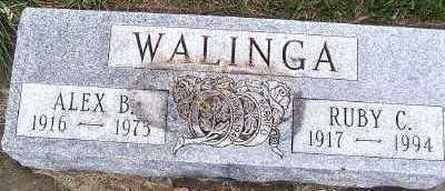 WALINGA, RUBY C. - Sioux County, Iowa | RUBY C. WALINGA
