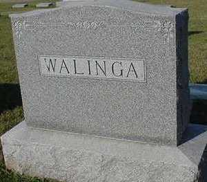 WALINGA, HEADSTONE - Sioux County, Iowa | HEADSTONE WALINGA