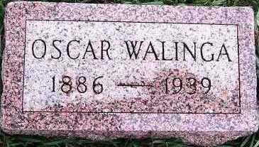 WALINGA, OSCAR - Sioux County, Iowa | OSCAR WALINGA