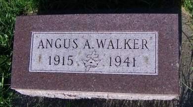 WALKER, ANGUS A. - Sioux County, Iowa | ANGUS A. WALKER