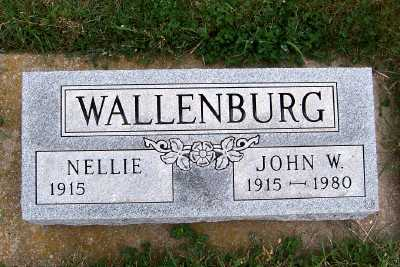 WALLENBURG, JOHN W. - Sioux County, Iowa | JOHN W. WALLENBURG