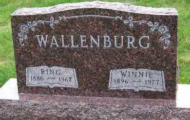 WALLENBURG, WINNIE - Sioux County, Iowa | WINNIE WALLENBURG