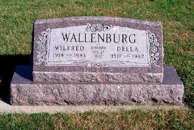 WALLENBURG, WILFRED - Sioux County, Iowa | WILFRED WALLENBURG