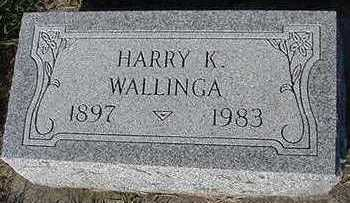 WALLINGA, HARRY - Sioux County, Iowa | HARRY WALLINGA