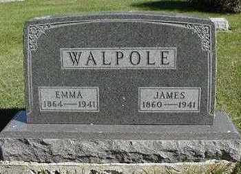 WALPOLE, JAMES - Sioux County, Iowa | JAMES WALPOLE