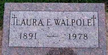 WALPOLE, LAURA E. - Sioux County, Iowa | LAURA E. WALPOLE