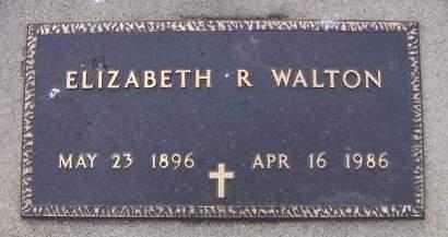 WALTON, ELIZABETH R. - Sioux County, Iowa | ELIZABETH R. WALTON