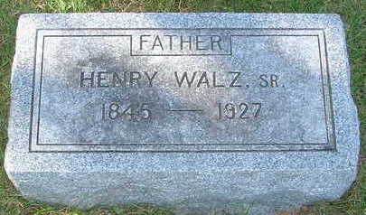 WALZ, HENRY SR. - Sioux County, Iowa | HENRY SR. WALZ