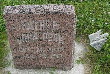WANDSCHEER, JOHN DIRK - Sioux County, Iowa | JOHN DIRK WANDSCHEER