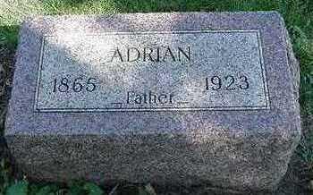WARNTJES, ADRIAN - Sioux County, Iowa | ADRIAN WARNTJES
