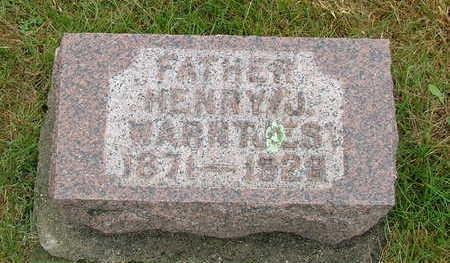 WARNTJES, HENRY J. - Sioux County, Iowa | HENRY J. WARNTJES
