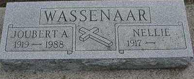 WASSENAAR, JOUBERT A. - Sioux County, Iowa | JOUBERT A. WASSENAAR