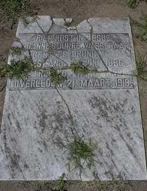 WASSENAAR, JOHANNES JURRE - Sioux County, Iowa   JOHANNES JURRE WASSENAAR