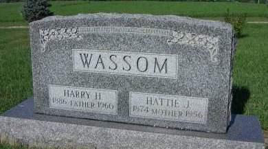 WASSOM, HARRY H. - Sioux County, Iowa | HARRY H. WASSOM