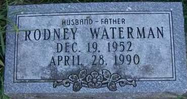 WATERMAN, RODNEY - Sioux County, Iowa   RODNEY WATERMAN