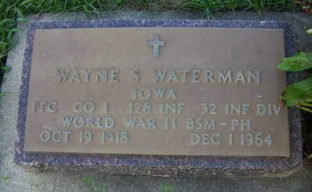 WATERMAN, WAYNE S. - Sioux County, Iowa | WAYNE S. WATERMAN