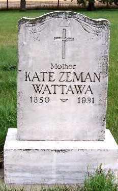 ZEMAN WATTAWA, KATE - Sioux County, Iowa   KATE ZEMAN WATTAWA