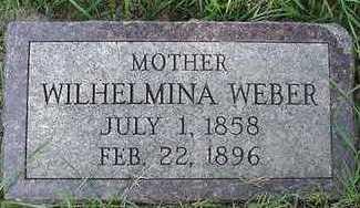 WEBER, WILHELMINA - Sioux County, Iowa | WILHELMINA WEBER