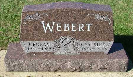 WEBERT, ORDEAN - Sioux County, Iowa   ORDEAN WEBERT