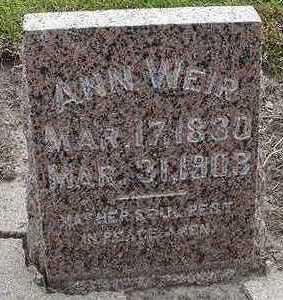 WEIR, ANN - Sioux County, Iowa | ANN WEIR