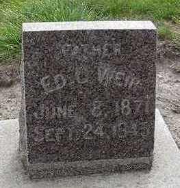 WEIR, ED C. - Sioux County, Iowa   ED C. WEIR