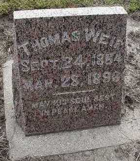 WEIR, THOMAS - Sioux County, Iowa | THOMAS WEIR